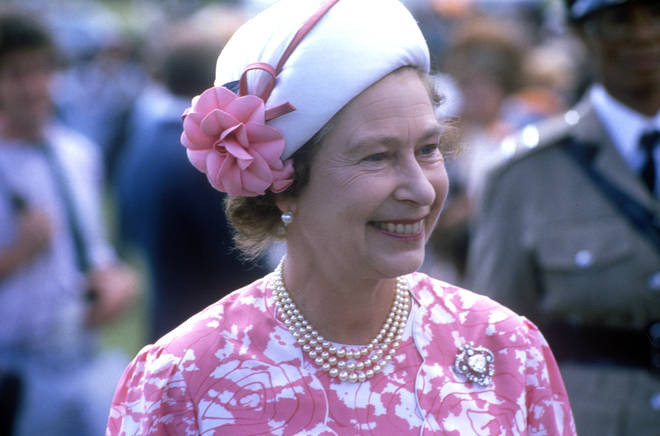 Queen Elizabeth II met with Wham! at the Royal Berkshire Polo Club in 1985