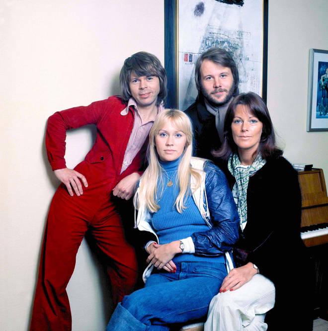 ABBA in 1976