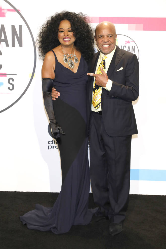 Berry Gordy Jr. with Diana Ross
