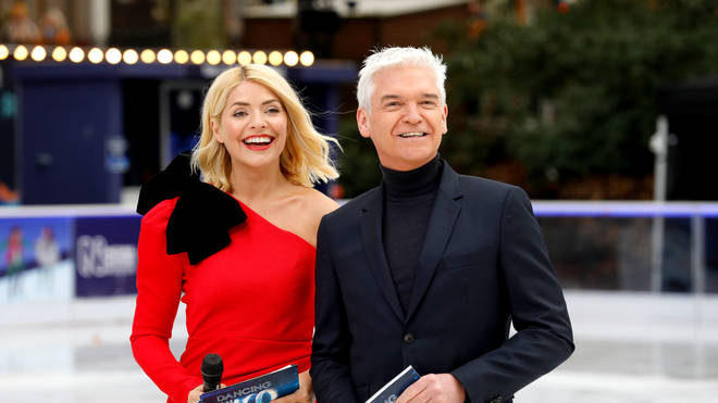 Dancing on Ice 2020: Holly Willoughby and Phillip Schofield