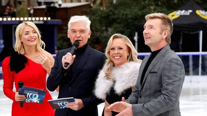 Dancing on Ice 2020: Holly Willoughby, Phillip Schofield, Jayne Torvill and Christopher Dean