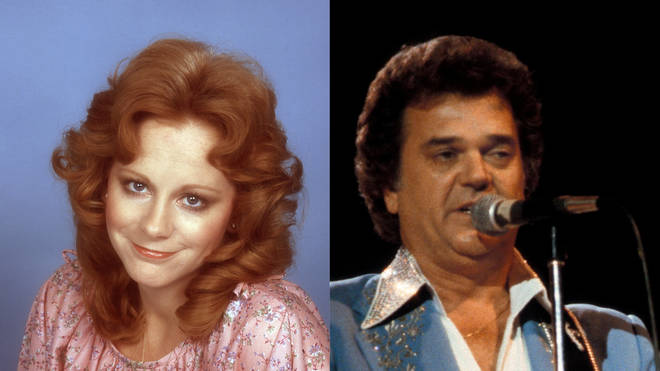 Reba McEntire and Conway Twitty