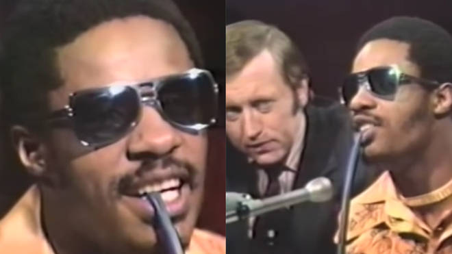 Stevie Wonder on the talkbox