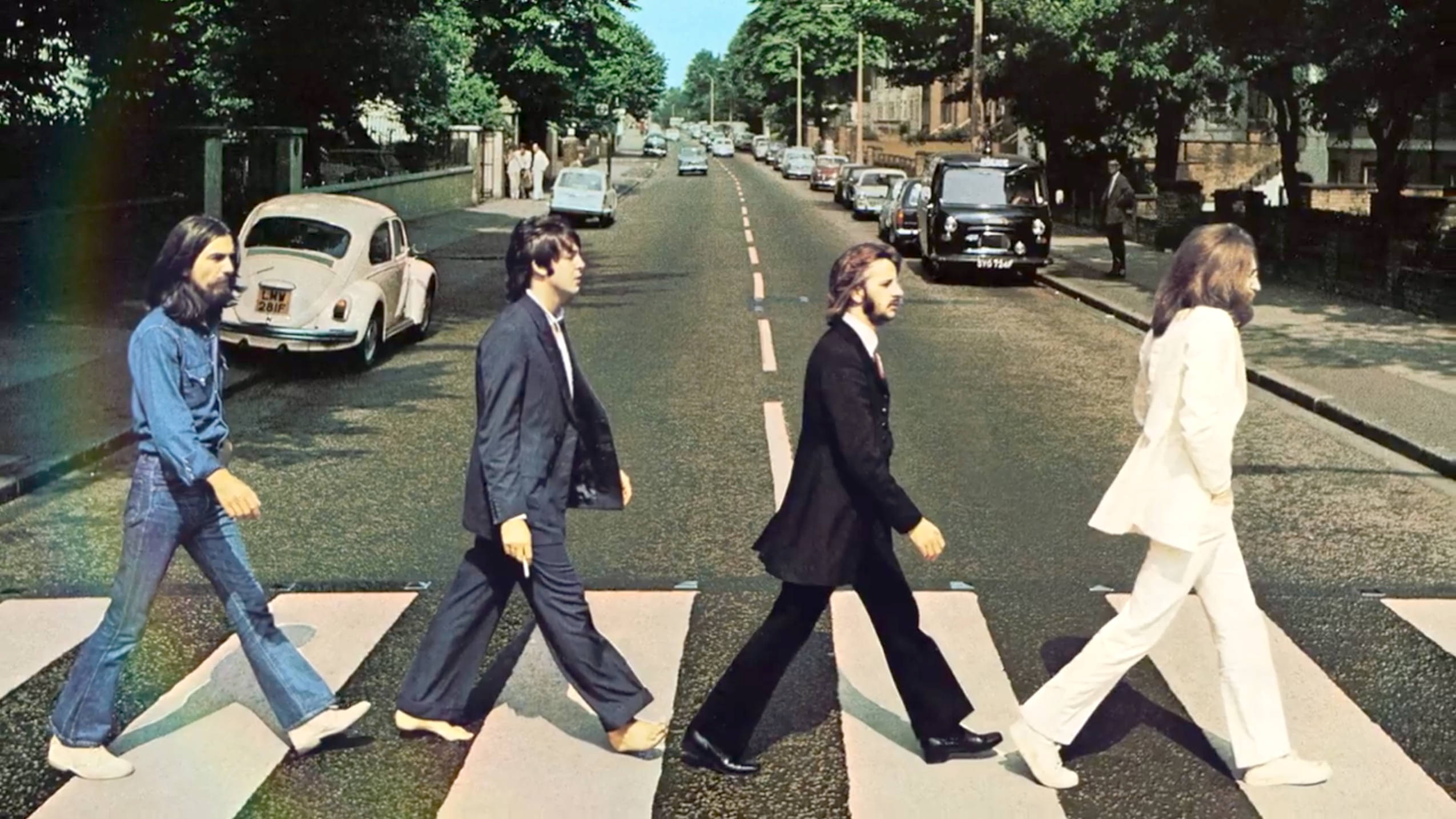 The Beatles' Abbey Road album is heading to number one after 50 years