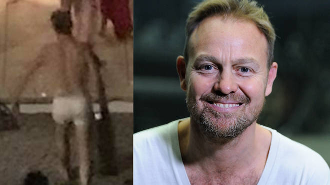 Jason Donovan rescued a neighbour after their house caught on fire