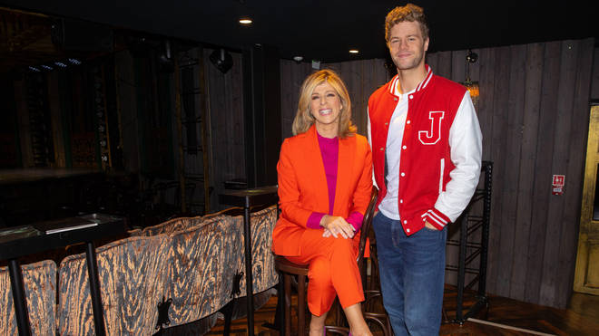 Kate Garraway with Jay McGuinness