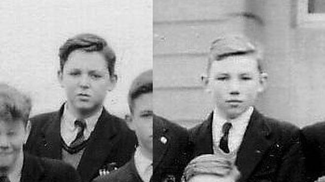 Peter Sissons and Paul McCartney