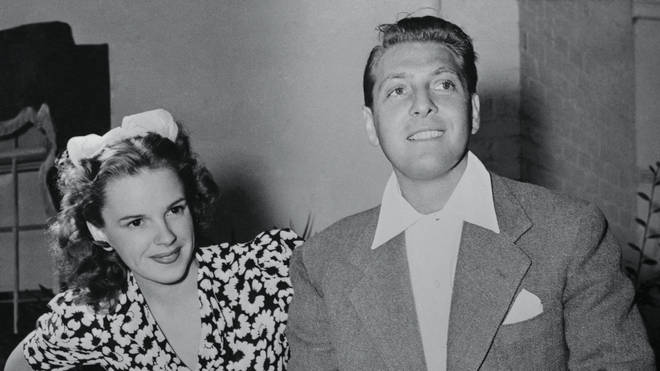 Judy Garland and David Rose