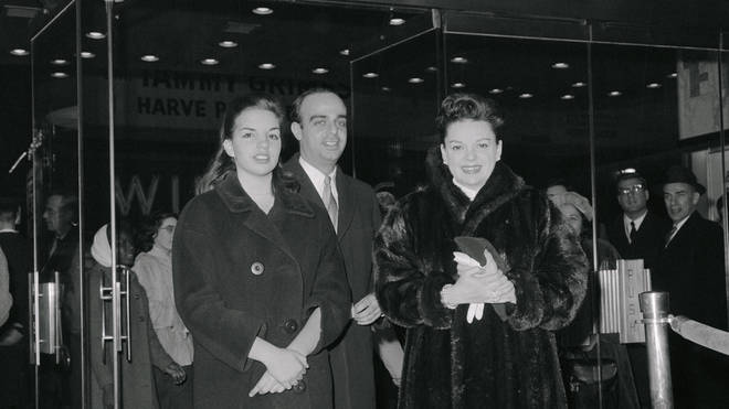 Judy Garland with Vincent and daughter Liza