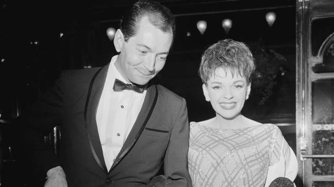 Judy Garland and Mark Herron in 1964