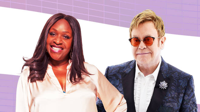 Elton John and Angie Greaves