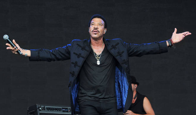Lionel Richie at Glastonbury 2015