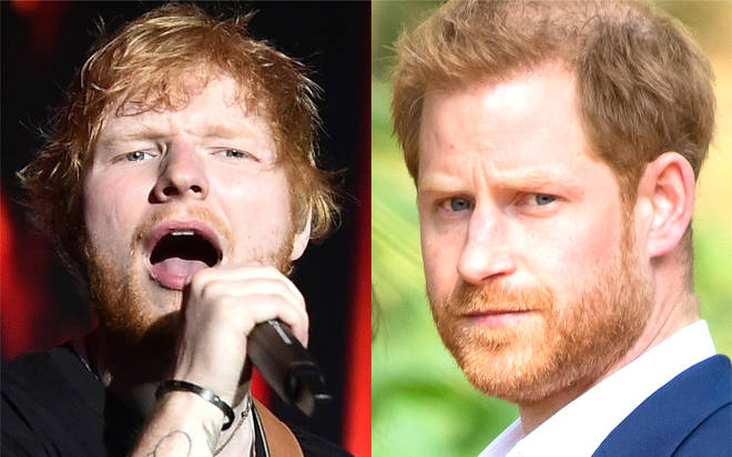 Ed Sheeran teams up with Prince Harry for surprise new collaboration