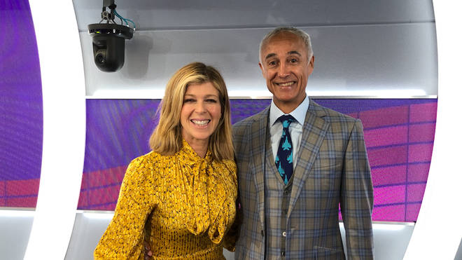 Kate Garraway and Andrew Ridgeley