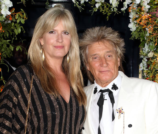 Rod Stewart's wife Penny Lancaster left in tears after recalling his prostate cancer diagnosis