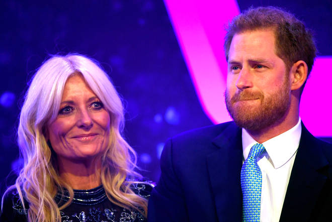Prince Harry crying during 'emotional' fatherhood speech