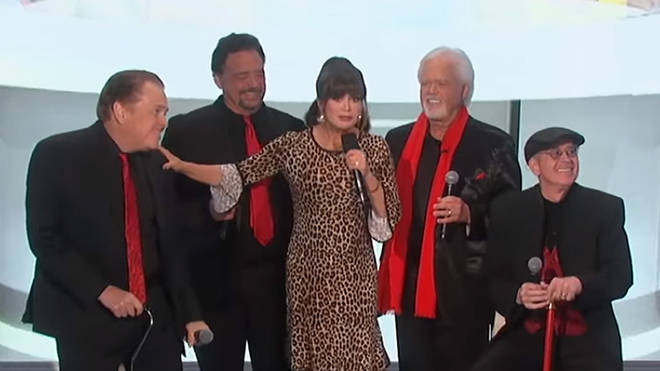 The Osmonds with Marie Osmond