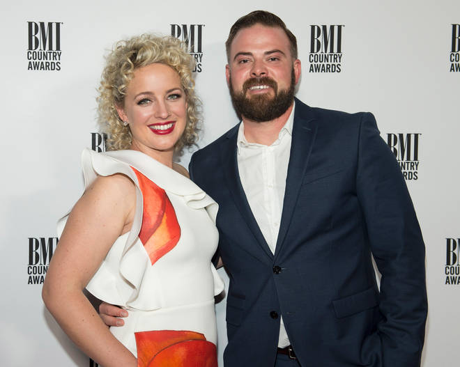 Country singer Cam with her husband Adam Weaver