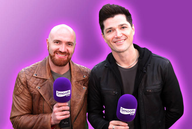 The Script's Mark Sheehan and Danny O'Donoghue speaking to Smooth Radio