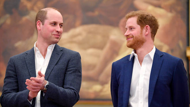 Harry and William in 2018