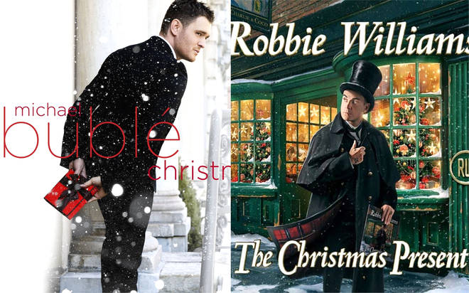 Robbie Williams in joke Christmas clash with Michael Bublé: 'It must end now'
