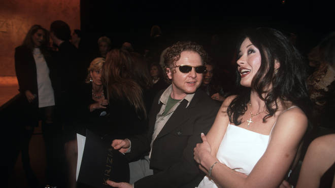 Mick Hucknall and Catherine Zeta Jones once dated