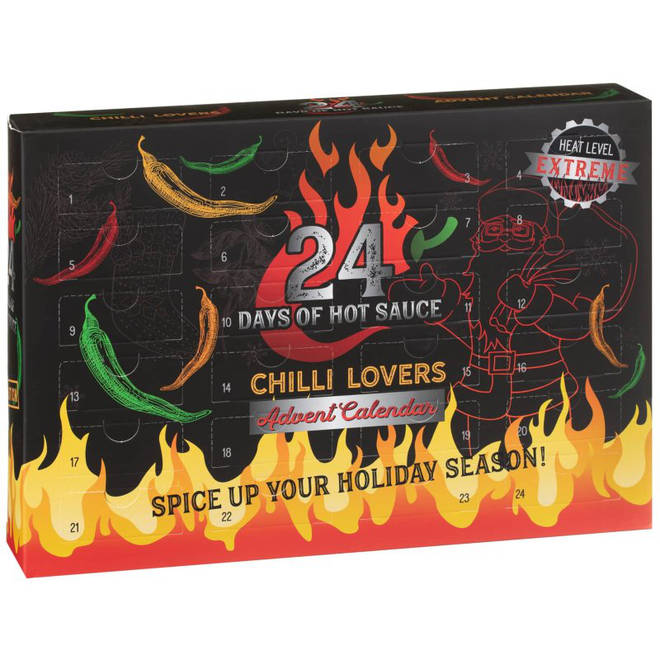 24 Days of Hot Sauce Chilli Lovers Advent Calendar