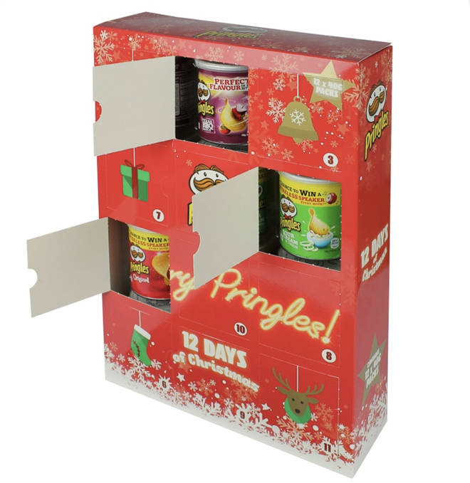 Pringles 12 Days Advent Calendar
