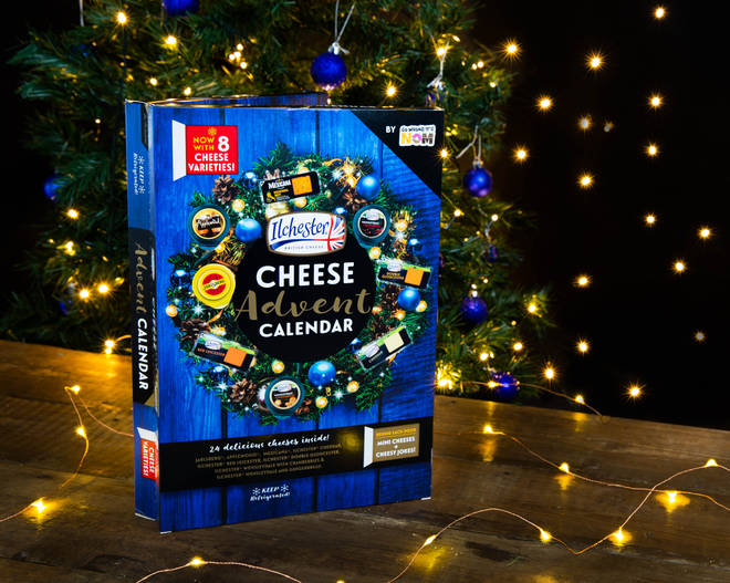 So Wrong It's Nom Cheese Advent Calendar