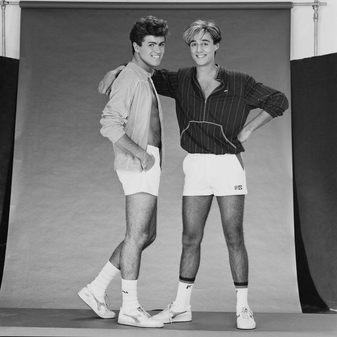 George Michael and Andrew Ridgeley were best friends since meeting at Bushey Meads school in the early '70s