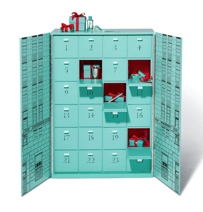 Tiffany & Co. calendar