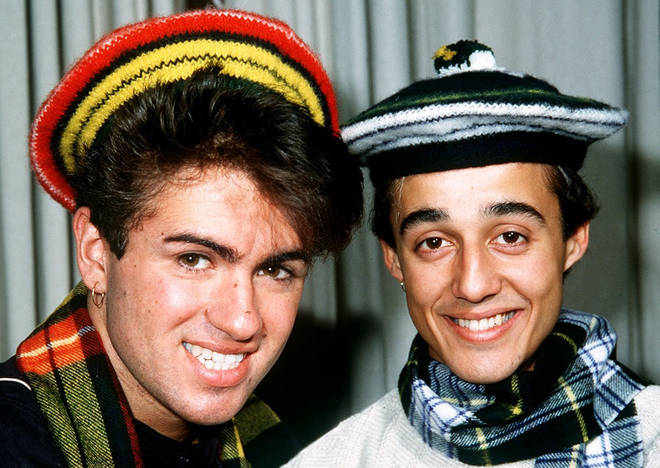 Andrew Ridgeley and George Michael, pictured here in 1984, were teenagers in the summer of 1978