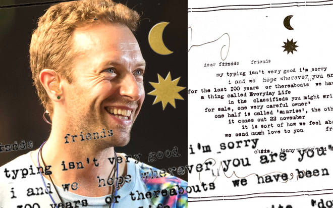 Coldplay's new album Everyday Life: Release date, track list and all the details you need to know