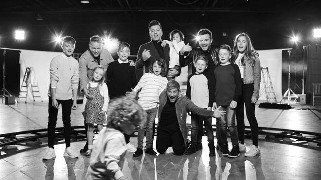 Westlife release emotional new music video featuring their children for 'My Blood'