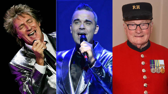 Rod Stewart, Robbie Williams and Colin Thackery will perform at the 2019 Royal Variety Performance