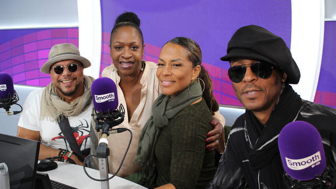 Shalamar and Angie Greaves