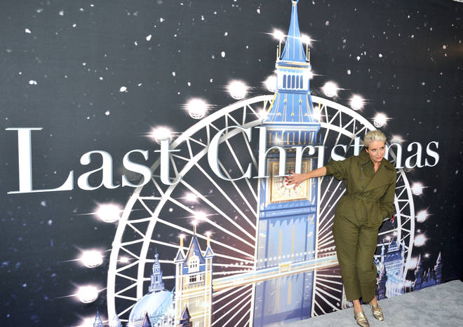 Emma Thompson at the New York premiere for Last Christmas