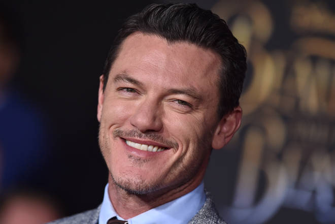 Welsh actor Luke Evans