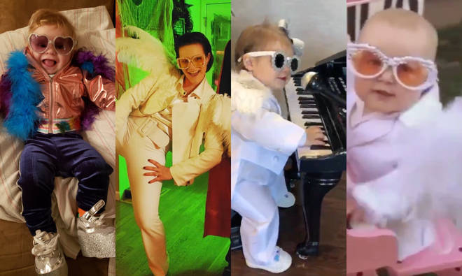 Elton John is this year's ultimate Halloween costume