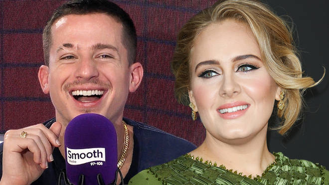 Charlie Puth addressed rumours he has teamed up with Adele