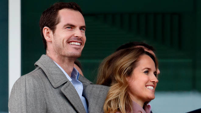 Andy Murray and Kim in March 2019