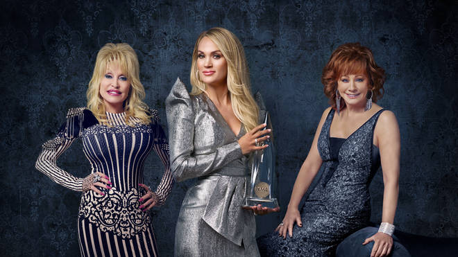 Dolly Parton, Carrie Underwood and Reba McEntire will host the 2019 CMAs