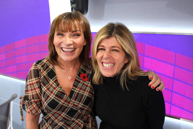 Lorraine Kelly with Kate Garraway at Smooth Radio