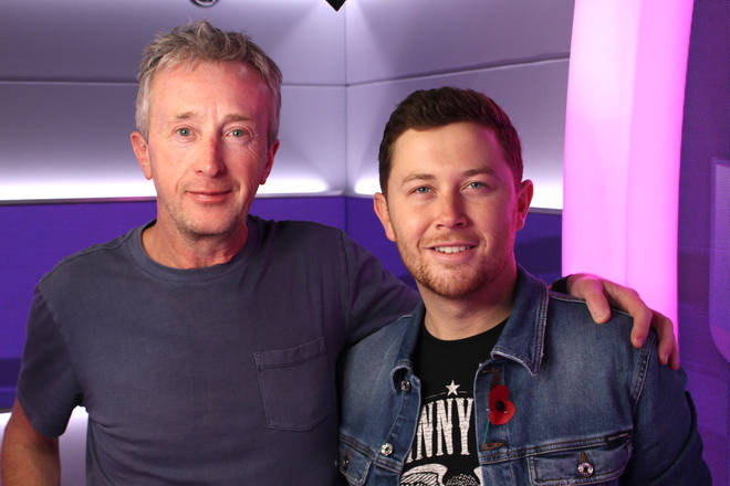 Smooth Country's Eamonn Kelly with Scotty McCreery