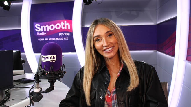 Megan McKenna speaking to Smooth Radio