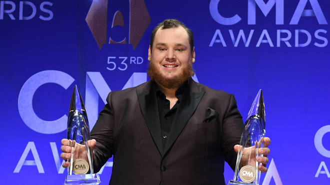 Luke Combs also won two awards