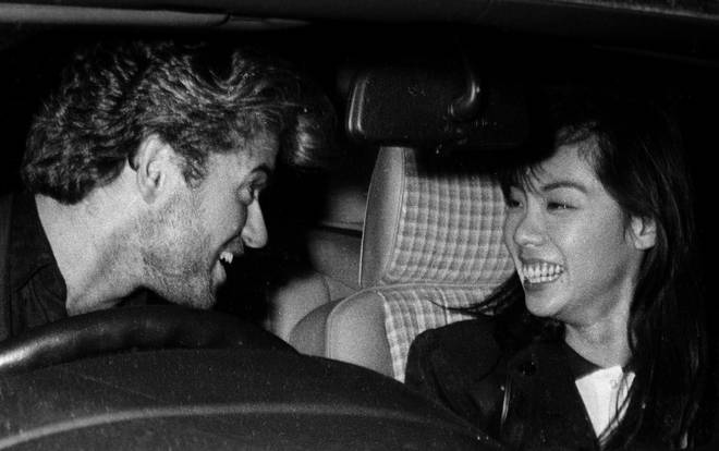 George Michael and Kathy Jeung dated in the late '80s