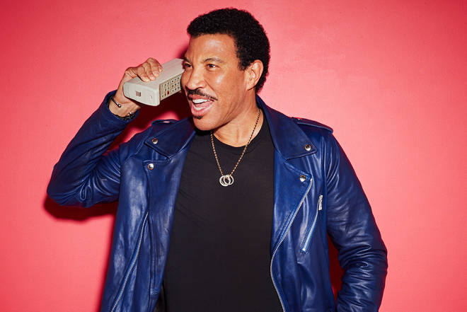 Lionel Richie on the phone
