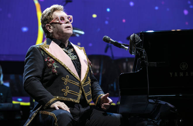 Elton John says he had to learn to walk again after surgery for prostate cancer