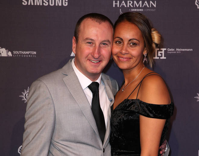 Andrew Whyment and his wife Nicola Whyment